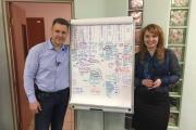 С 19 по 22 марта Алексей Фатеев провел корпоративную стратегическую сессию в Омске в компании «ИнвестАудит»